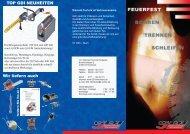 download Feuerfest-Folder - GDI Diamant Technik Herdecke