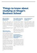 at Otago - School of Business, University of Otago, New Zealand ... - Page 6