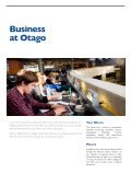 at Otago - School of Business, University of Otago, New Zealand ... - Page 7