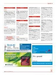 Vorbeugen, nicht leiden - Wochenspiegel