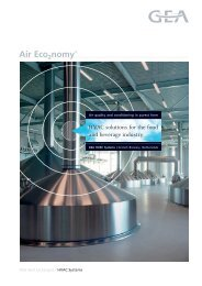 HVAC solutions for the food and beverage industry - GEA ...