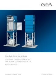GEA Dust-Extraction Systems Solution for industrial dust ... - GEA GKM