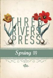 Spring 2009 Three Rivers Press catalog - Random House