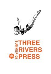 Summer 2008 Three Rivers Press catalog - Random House