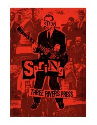 Spring 2006 Three Rivers Press catalog - Random House