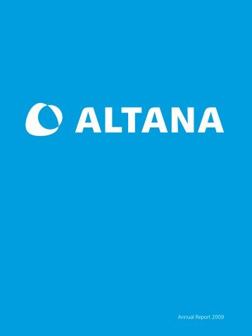 interview with frank richter, head of corpo - Altana AG
