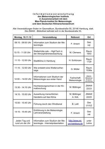 Proceedings zur 6 fachtagung biomet meteorologisches for Raumgestaltung programm