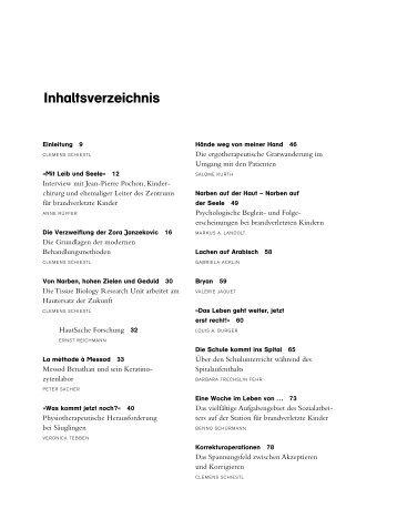 Inhaltsverzeichnis - rüffer & rub