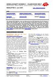 newsletter 6 - GSIW