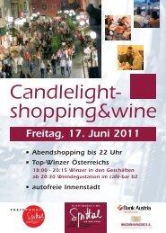 Freitag, 17. Juni 2011 • Abendshopping bis 22 ... - Spittal an der Drau