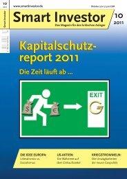 Smart Investor (Ausgabe 10/2011) - Sven Hermann Consulting