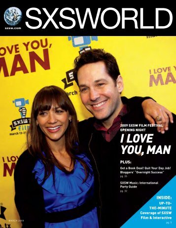 I LOVE YOU, MAN - SXSWORLD® Magazine