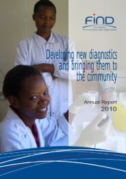 2010 Annual Report - Foundation for Innovative New Diagnostics