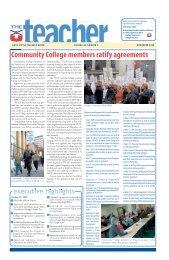 November 2009 - Nova Scotia Teachers Union