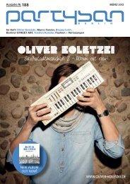 Im Heft: Oliver Koletzki, Marco Fender, Blaues Licht ... - Partysan