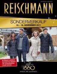 Sonderverkauf - Reischmann · Mode · Sport · Ravensburg