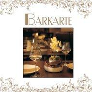 Barkarte - Park Inn Bielefeld