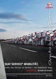 SEAT SERVICE® MOBILITÄT. - SEAT Österreich