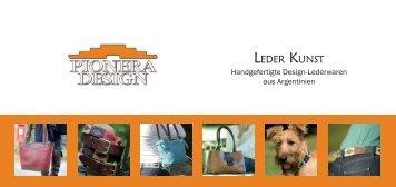 LEDER KUNST - Pionera-Design