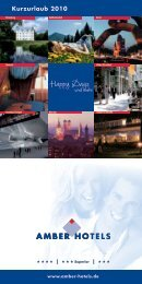 Happy Days - Amber Hotels