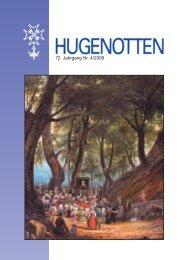 72. Jahrgang Nr. 4 - Deutsche Hugenotten-Gesellschaft eV