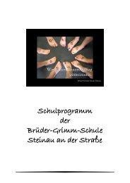 Schulprogramm Brüder-Grimm-Schule, Steinau