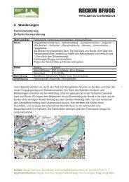 3. Wanderungen - Pro Natura Aargau