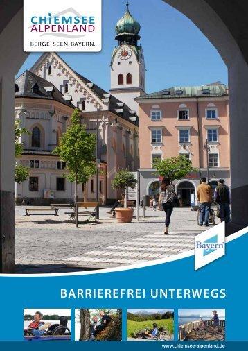 BARRIEREFREI UNTERWEGS - Chiemsee