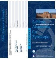 Schloss Akademie für Zytologie - Internationale Akademie für ...