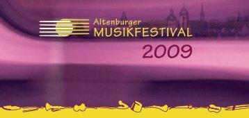 2009 - Altenburger Musikfestival 2013