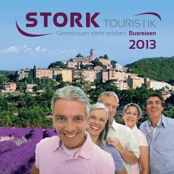 Katalog 2013 - Stork-Touristik