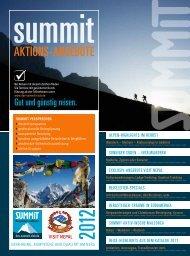 AKtIonS-AnGeBote - DAV Summit Club