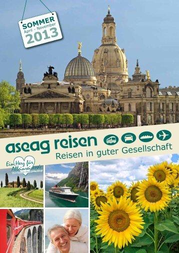 Sommerkatalog 2013 - Aseag Reisen GmbH