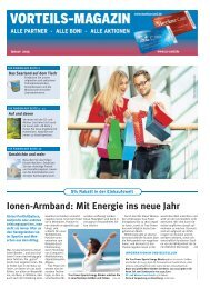 Vorteilsmagazin 01/2013 - Saarbrücker Zeitung