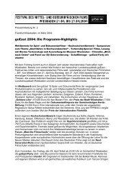 März 2004 - goEast - Deutsches Filminstitut