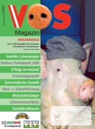 Volatiles Schweinejahr Ferkelmarkt 2009 Erfolge im ... - Schweine.at