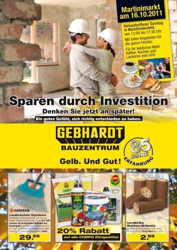 Entspannt in den Winter - Gebhardt Bauzentrum