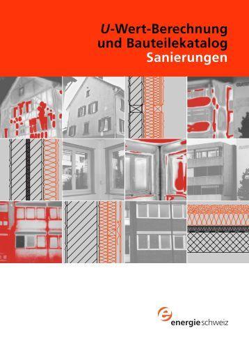 7 3 u wert berechnung und bauteilekatalog neubauten pdf awa. Black Bedroom Furniture Sets. Home Design Ideas