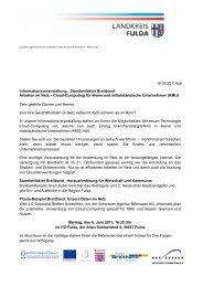 Einladung als pdf zum Download - Zeitsprung IT-Forum-Fulda e.V.