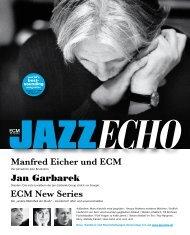 ECM New Series Manfred Eicher und ECM