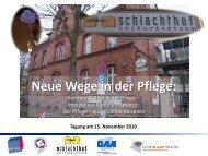 Facetten der Kommunikation in der Pflege - BTQ Kassel
