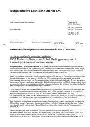 Rainer Lamberts - Home | Bürgerinitative Lech- Schmuttertal eV