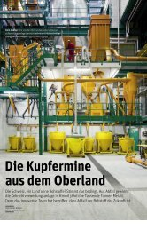 Artikel im - Kehrichtverwertung Zürcher Oberland