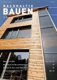 nachhaltig bauen - Gerber Media