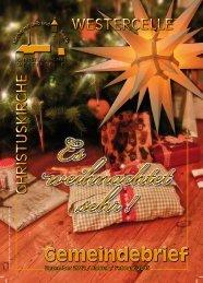 Ausgabe 2012/13: Dez / Jan / Febr - Kirchengemeinde Westercelle