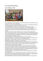 Lernort Bauernhof in Sachsen Preisverleihung 1. Platz