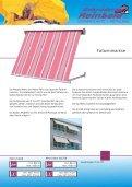 Fassadenmarkisen - Fallarm - - Gebrueder Reinbold - Page 2