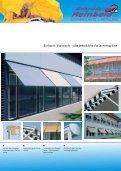 Fassadenmarkisen - Fallarm - - Gebrueder Reinbold - Page 3