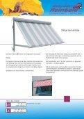 Fassadenmarkisen - Fallarm - - Gebrueder Reinbold - Page 4