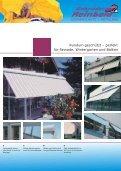 Fassadenmarkisen - Fallarm - - Gebrueder Reinbold - Seite 5